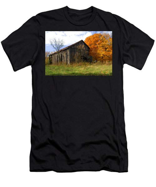 Weathered Barn 3 Men's T-Shirt (Athletic Fit)