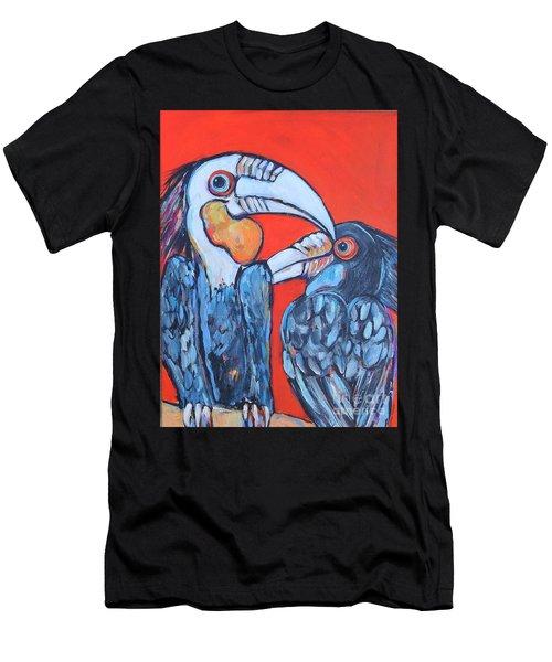Weathered Hornbills Men's T-Shirt (Athletic Fit)