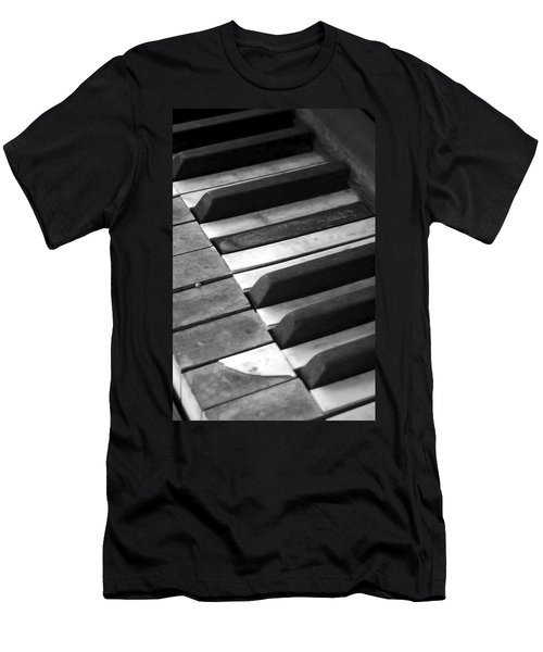 Weathered Music Men's T-Shirt (Athletic Fit)