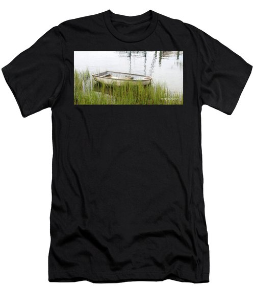Weathered Old Skiff - The Outer Banks Of North Carolina Men's T-Shirt (Athletic Fit)