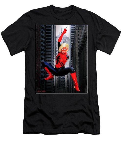 Web Swinger Men's T-Shirt (Athletic Fit)