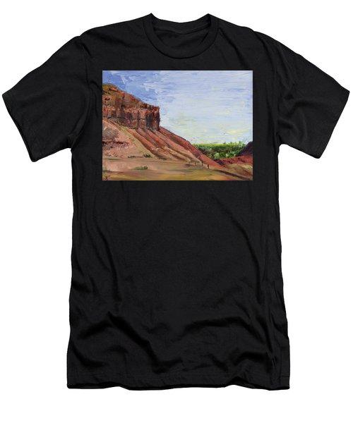 Weber Sandstone Men's T-Shirt (Athletic Fit)