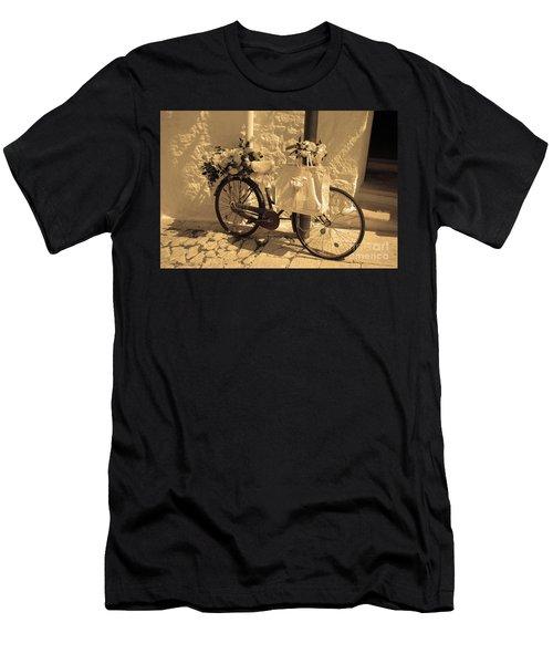Wedding Bike Men's T-Shirt (Athletic Fit)