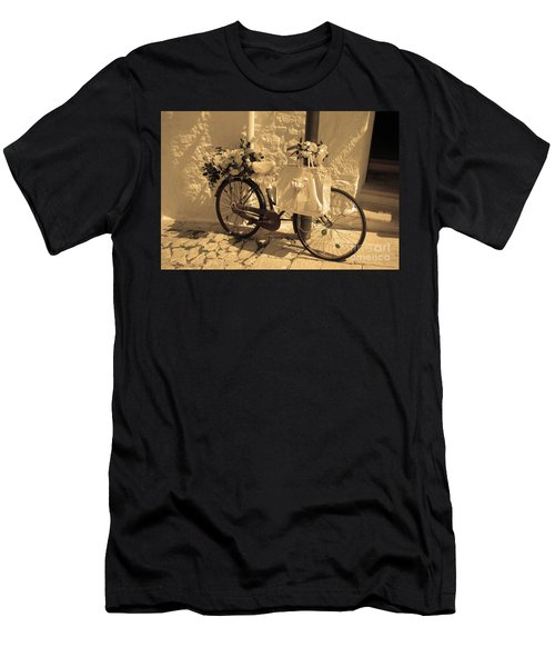 Wedding Bike Men's T-Shirt (Athletic Fit)