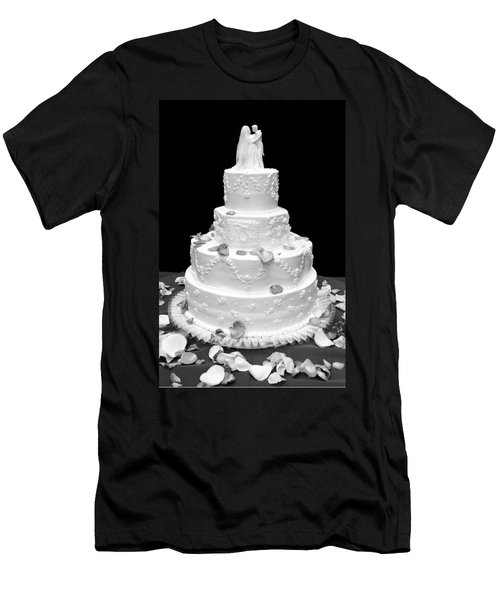 Wedding Cake Men's T-Shirt (Athletic Fit)