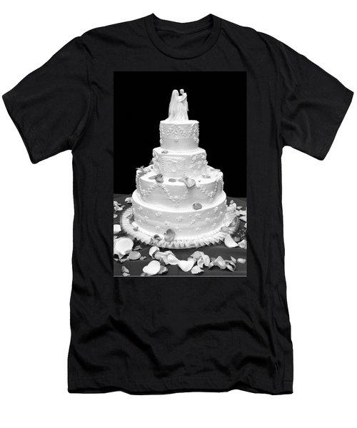 Wedding Cake Men's T-Shirt (Athletic Fit)