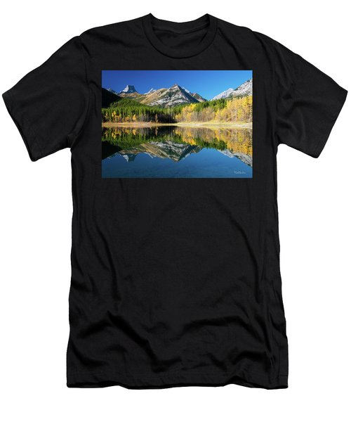 Wedge Pond Color Men's T-Shirt (Athletic Fit)