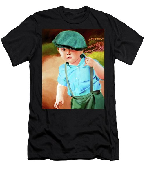 Wee Laddie  Men's T-Shirt (Athletic Fit)