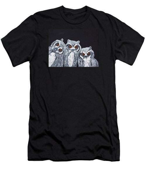 Wee Owls Men's T-Shirt (Athletic Fit)
