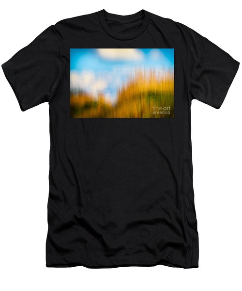 Weeds Under A Soft Blue Sky Men's T-Shirt (Athletic Fit)