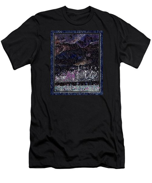 Weekly Market In The Hill In The Evening Men's T-Shirt (Athletic Fit)