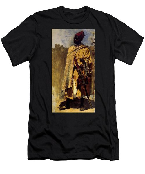 Weeks Edwin Moorish Guard Men's T-Shirt (Athletic Fit)