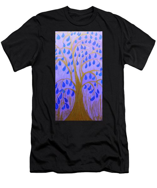 Weeping Tree Men's T-Shirt (Slim Fit)