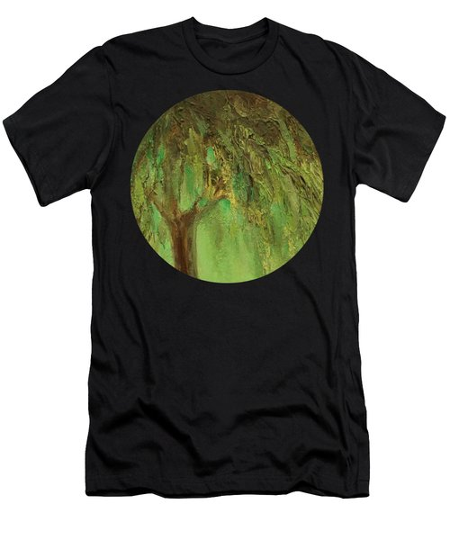 Weeping Willow Men's T-Shirt (Athletic Fit)