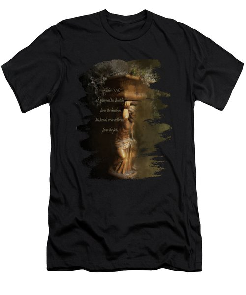 Weight Of The World - Verse Men's T-Shirt (Athletic Fit)