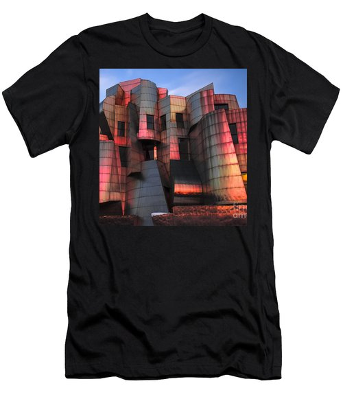 Weisman Art Museum At Sunset Men's T-Shirt (Slim Fit) by Craig Hinton