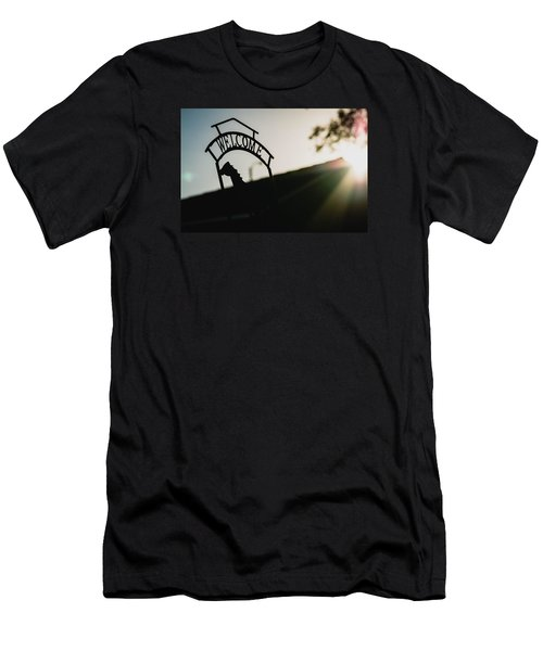 Welcome Men's T-Shirt (Athletic Fit)