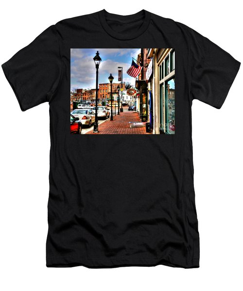 Welcome To Fells Point Men's T-Shirt (Athletic Fit)