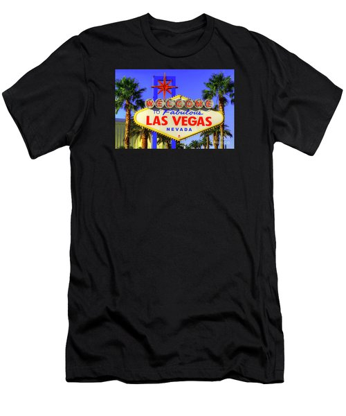 Welcome To Las Vegas Men's T-Shirt (Slim Fit)