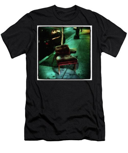 Men's T-Shirt (Athletic Fit) featuring the photograph Welcome To My Living Room, Pull Up A by Mr Photojimsf