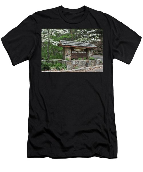 Welcome To Signal Mountain Spring Men's T-Shirt (Athletic Fit)