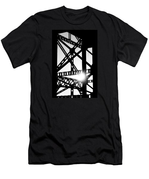 Men's T-Shirt (Slim Fit) featuring the photograph Welded by Scott Rackers