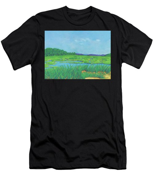 Wellfleet Wetlands Men's T-Shirt (Athletic Fit)
