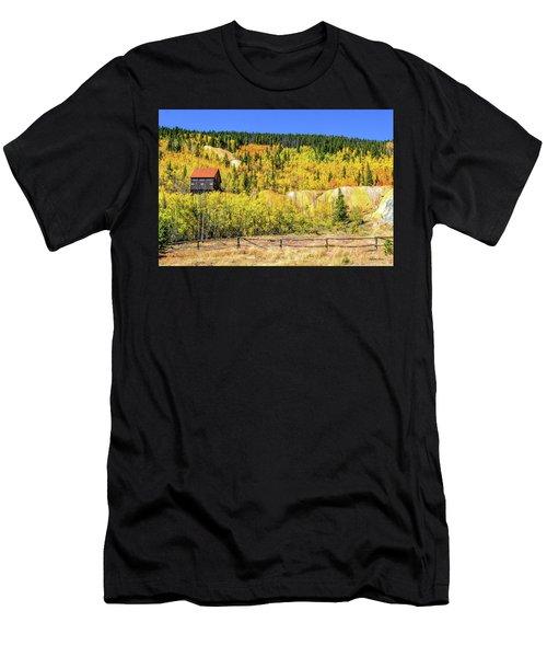 Wellington Ore Bin In The Aspen Men's T-Shirt (Athletic Fit)