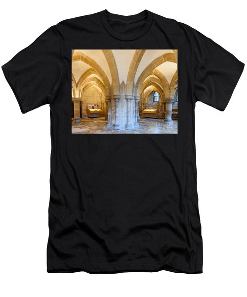 Wells Cathedral Undercroft Men's T-Shirt (Athletic Fit)