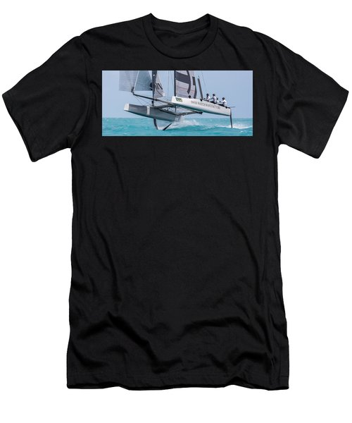 We're Flying Now Men's T-Shirt (Athletic Fit)