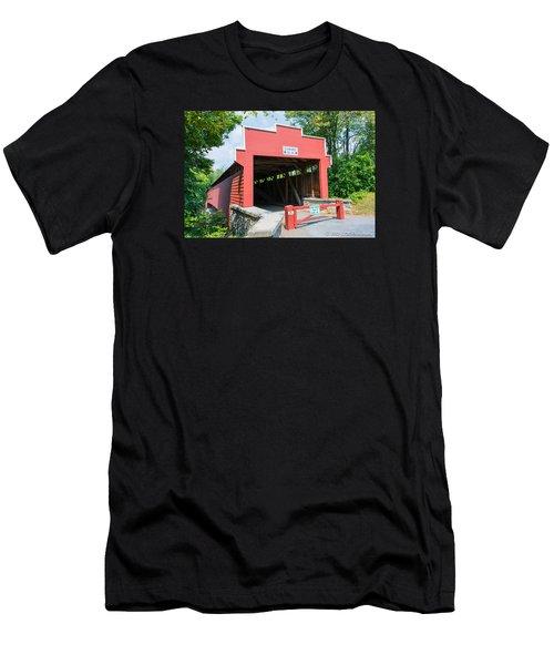 Wertz Covered Bridge Men's T-Shirt (Athletic Fit)