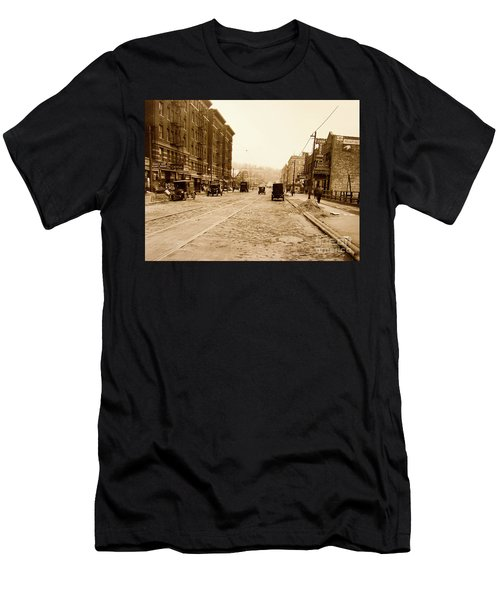 West 207th Street, 1928 Men's T-Shirt (Athletic Fit)