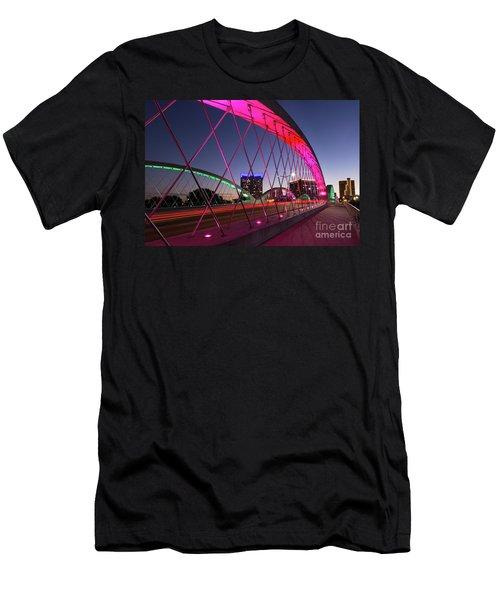 West 7th Street Bridge Men's T-Shirt (Athletic Fit)