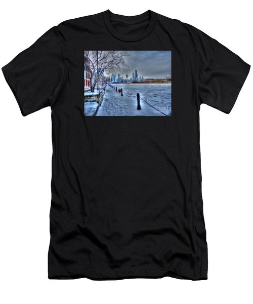 West From Navy Pier Men's T-Shirt (Athletic Fit)