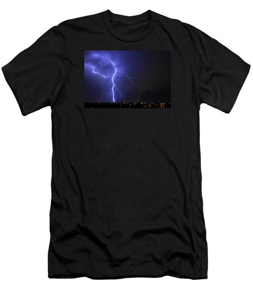 West Jordan Lightning 2 Men's T-Shirt (Athletic Fit)