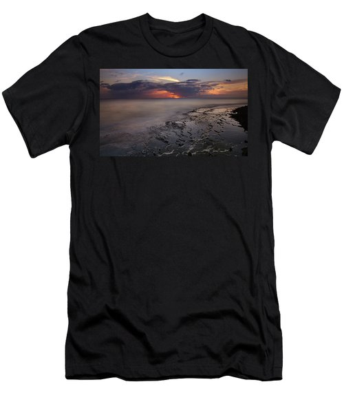 West Oahu Sunset Men's T-Shirt (Athletic Fit)