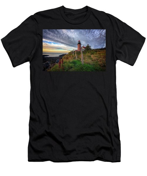 West Quoddy Head Light Station Men's T-Shirt (Athletic Fit)