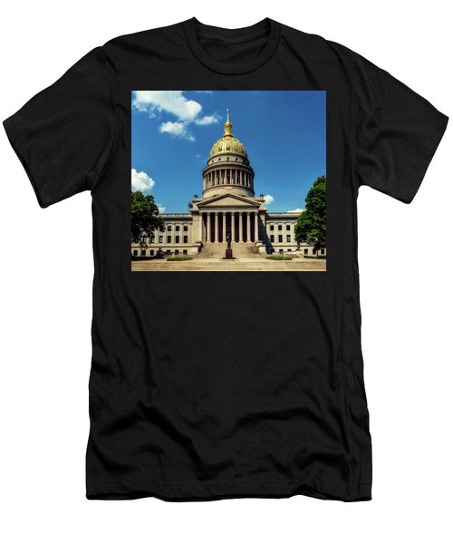 West Virginia Capitol - Charleston Men's T-Shirt (Slim Fit) by L O C
