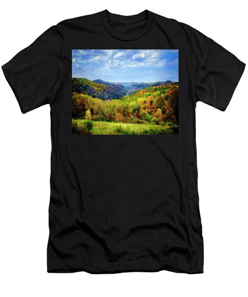 West Virginia Men's T-Shirt (Slim Fit) by Mark Allen