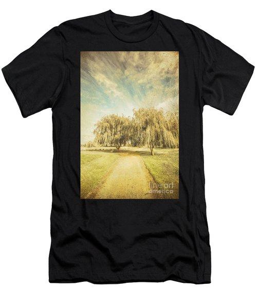 Westbury Common Wetland Men's T-Shirt (Athletic Fit)