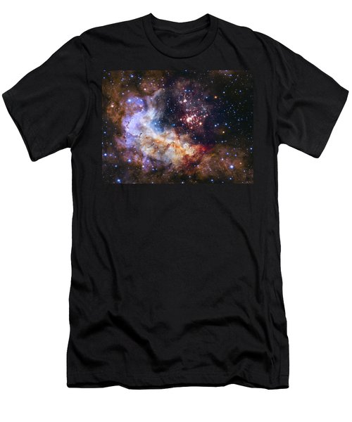 Westerlund 2 - Hubble 25th Anniversary Image Men's T-Shirt (Athletic Fit)