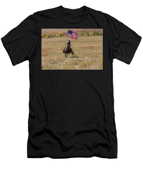 Western America Men's T-Shirt (Athletic Fit)