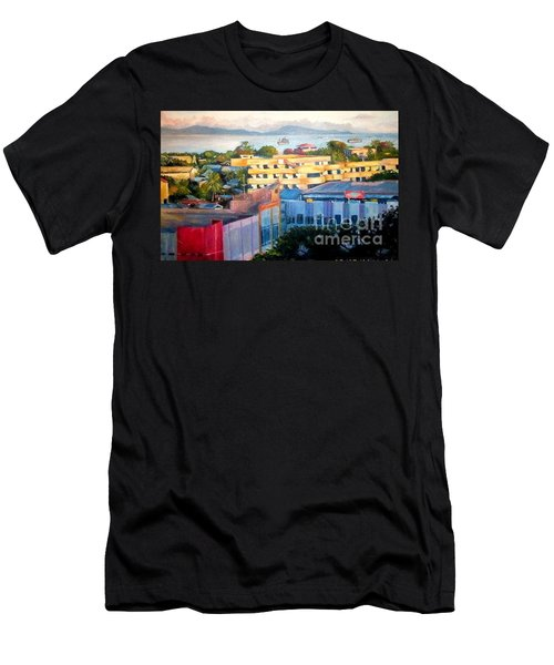 Western Part Of Sorong Town Men's T-Shirt (Athletic Fit)