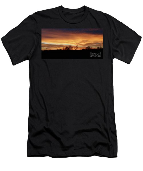 Western Sky December 2015 Men's T-Shirt (Athletic Fit)