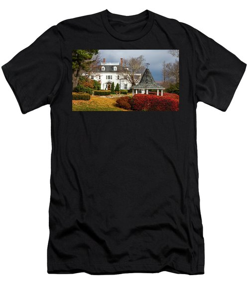Men's T-Shirt (Slim Fit) featuring the photograph Westglow In Autumn by Karen Wiles