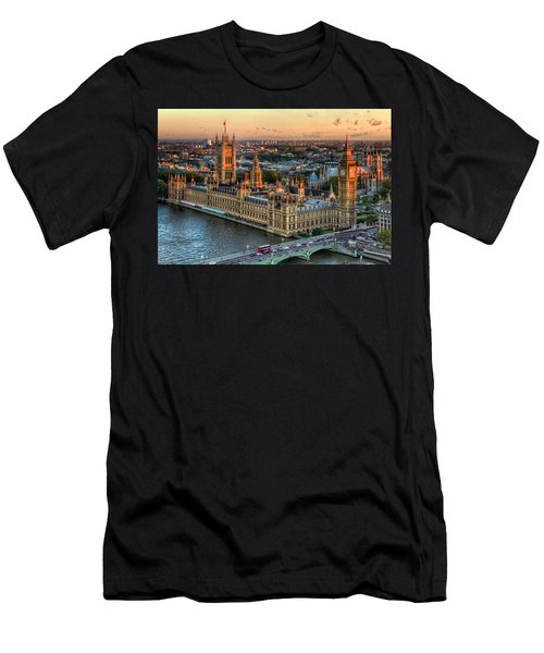 Westminster Palace Men's T-Shirt (Athletic Fit)