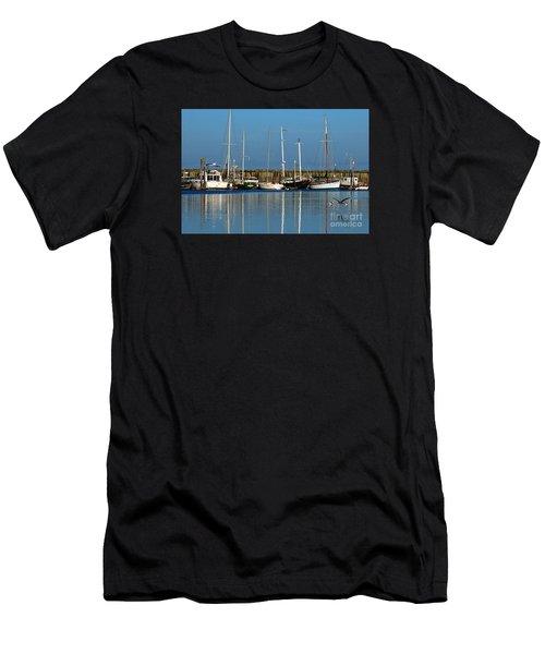 Westport Fishing Fleet I Men's T-Shirt (Athletic Fit)
