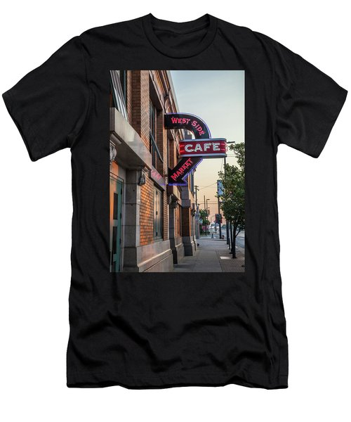 Westsidemarketcafe Men's T-Shirt (Athletic Fit)