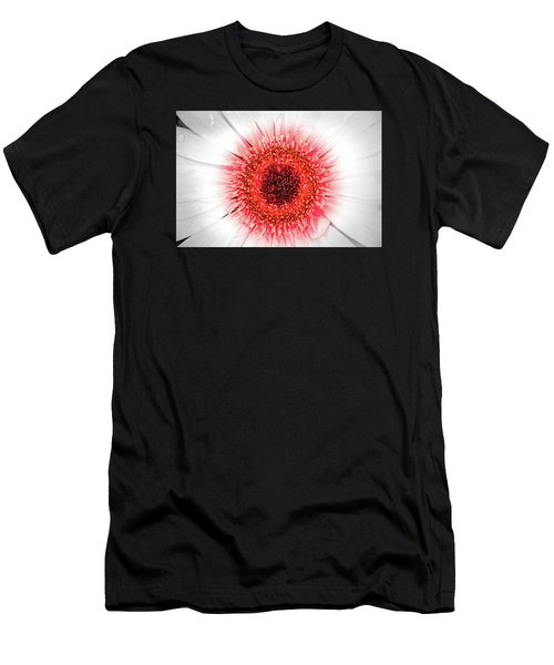 Wet Gerbera With Splash Of Color Men's T-Shirt (Athletic Fit)