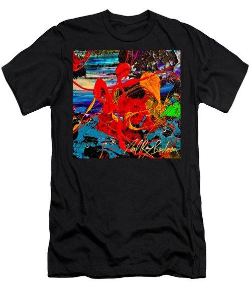 Wet Sunset Men's T-Shirt (Athletic Fit)